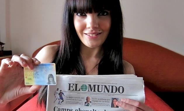 SE DESVIRGO EL DIA DE SU CUMPLEAÑOS Ayer tenia 17 Carmen Lomama
