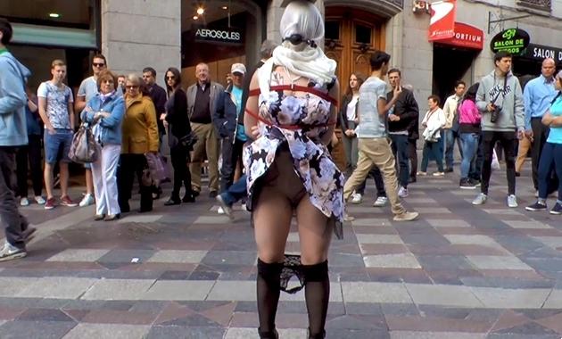 Brenda Boop – duro sexo anal en publico