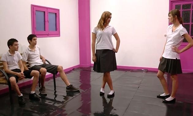 FAKINGS Ainara y Judith con Jordi el Niño Polla
