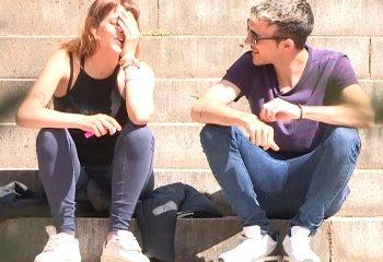 FAKINGS PILLADAS IRIS TEEN Fumeta estudiante de filosofía, tiene solo 20 añitos ESTÁ MUY NERVIOSA
